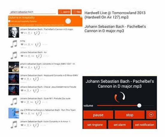 Nejlepší aplikace pro stahování hudby na Androidu