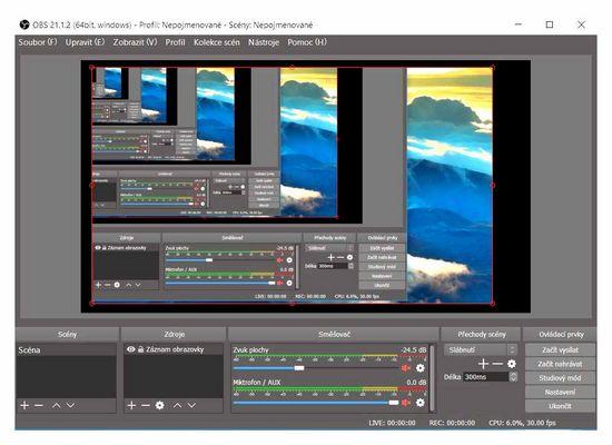 Software pro záznam obrazovky počítače se zvukem